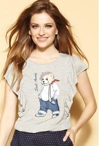 Молодежная блузка с аппликацией Zaps Gamze