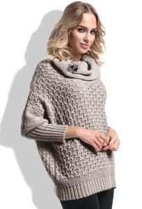 Женский свитер оверсайз единого размера Fimfi I227