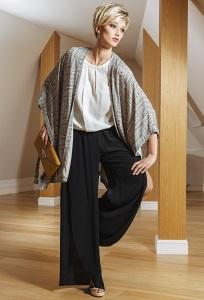 Женские широкие брюки Flaibach 012S5