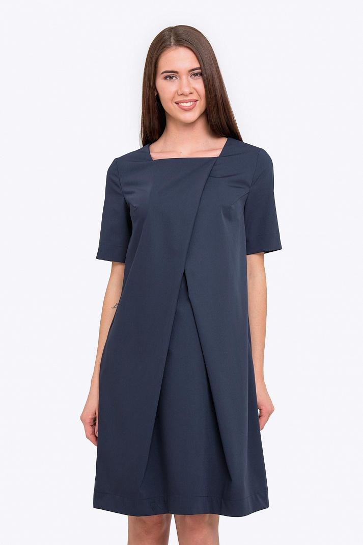 ae617b3672f115e Купить летнее платье-футляр оригинального кроя Emka PL-573/meit в ...