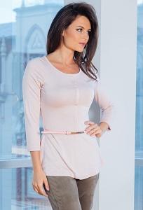 Женская блузка с тонким ремешком TopDesign A7 140