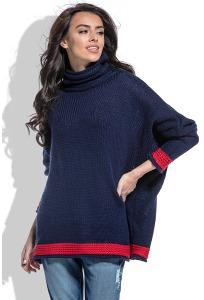 Свободный свитер oversize Fobya F469