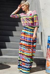Длинная летняя юбка Flaibach 003S6