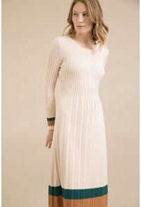 Длинное трикотажное платье Emka PL990/orelsan