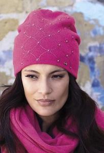 Женская двойная удлиненная шапка Kamea Galicja