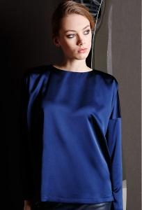 Синяя блузка Flaibach 114W7