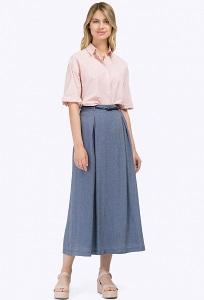 Длинная юбка А-силуэта на подкладке Emka S760/dasha