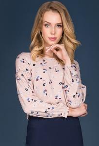 Блузка грязно-розового цвета Emka Tursi