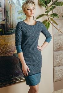 Строгое платье прямого покроя Flaibach 004W6