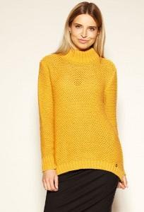 Жёлтый женский свитер Zaps Theona