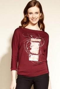 Бордовая блузка Zaps Tresa
