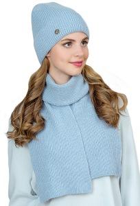 Комплект шапка и шарф из ангоры Landre Фелиция