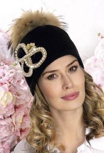 Женская шапка с шикарным декором Willi Enirami