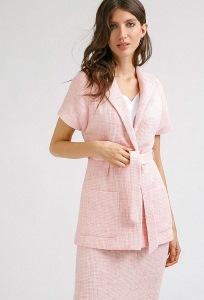 Жакет бледно-розового цвета Emka ML513/pontevedra