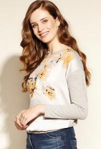 Стильная блуза с длинным рукавом Zaps Silva