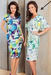 Красивое летнее длинное платье TopDesign A7 017