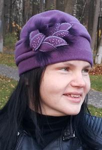 Женская шерстяная шапка Willi Setja (коллекция 18/19)