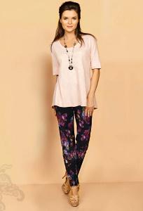 Женские прямые брюки TopDesign PA5 76