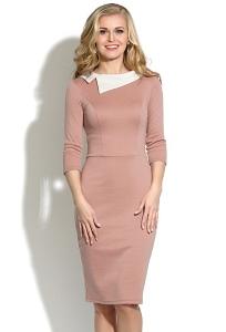 Платье-футляр из плотного трикотажа Donna Saggia DSP-05-6t