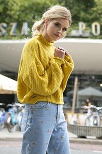 Укороченный свитер Fobya F550