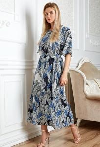 Длинное лёгкое платье TopDesign Premium PA20 22