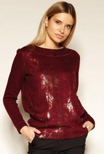 Бордовая блузка Zaps Sabby