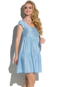 5a4f2d73f2e Купить простое короткое летнее платье Donna Saggia DSP-88-53 в ...