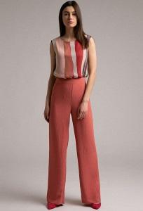 Свободные брюки палаццо Emka D167/cozy