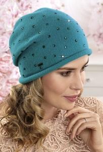 Женская шапка-бандана с руликом Willi Szanara