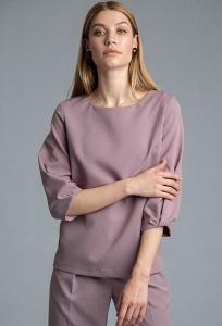 Легкая блузка прямого кроя Emka B2552/riky