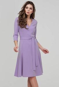 Романтичное платье сиреневого цвета Donna Saggia DSP-288-86