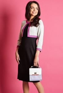 Платье с эффектом болеро TopDesign Premium PB5 54