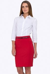 Красная юбка Emka Fashion 597-adelina