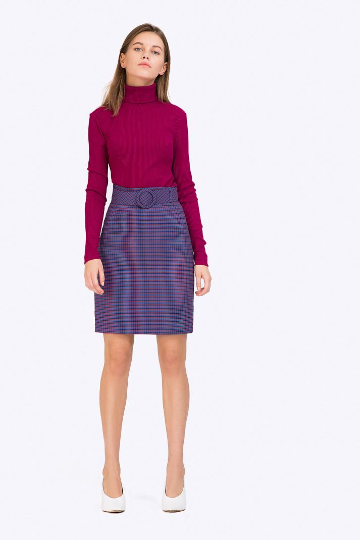 d6d384e6591 Короткая юбка с широким поясом Emka S799 missouri купить в интернет ...