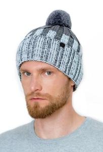Теплая мужская шапка на флисе Landre Сандро