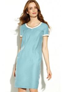 Голубое летнее платье Zaps Chica