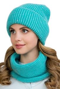 Молодежный комплект шапка + снуд Landre Лулу