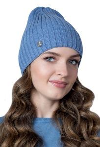 Тонкая одинарная шапка с отворотом Landre Сара