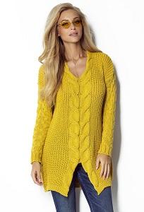 Удлиненный свитер Fimfi I301