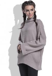 Модный свитер oversize Fobya F423