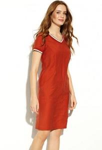 Летнее красное платье Zaps Chica