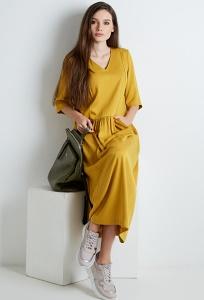 Длинное летнее платье TopDesign A20 077