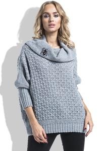 Женский свитер с широким воротником Fimfi I227