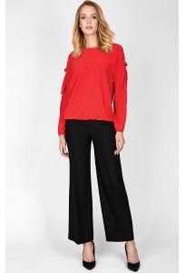 Чёрные женские брюки-кюлоты Zaps Asuni