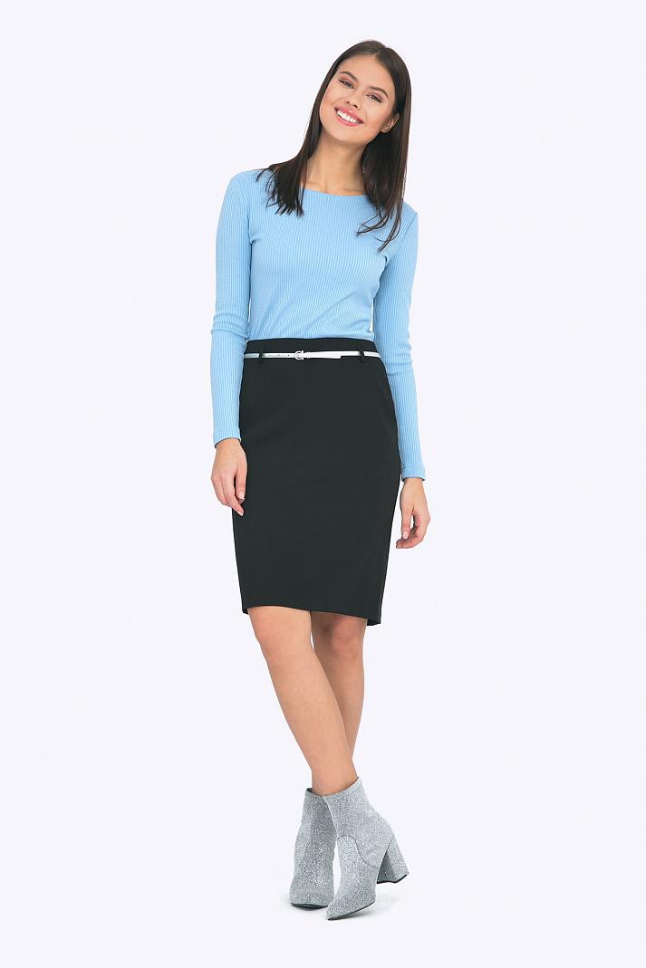 a3baa7eebea Универсальная чёрная юбка Emka S656 milisa купить в интернет-магазине