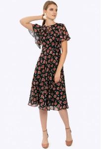 Летнее платье в романтическом стиле Emka PL782/petale
