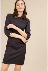 Короткое приталенное платье Emka PL438/rosinda