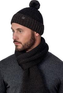 Мужской комплект шапка и шарф Landre Викензо