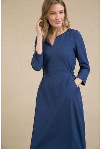 Платье приталенного кроя Emka PL825/vidavi