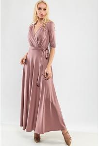 Длинное платье из ткани тенсел TopDesign Premium PA9 66